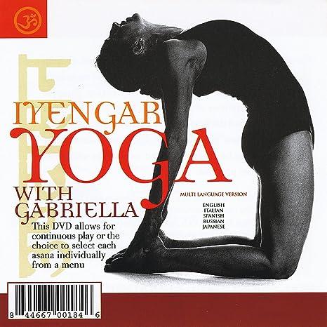 Iyengar Yoga With Gabriella [Reino Unido] [DVD]: Amazon.es ...