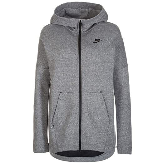 04e0a116d3fa Amazon.com  Nike Tech Fleece Women s Cape Hoodie  Sports   Outdoors