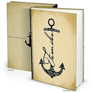 Xxl Familien Album Familien Buch Anker Familien Chronik Stammbaum