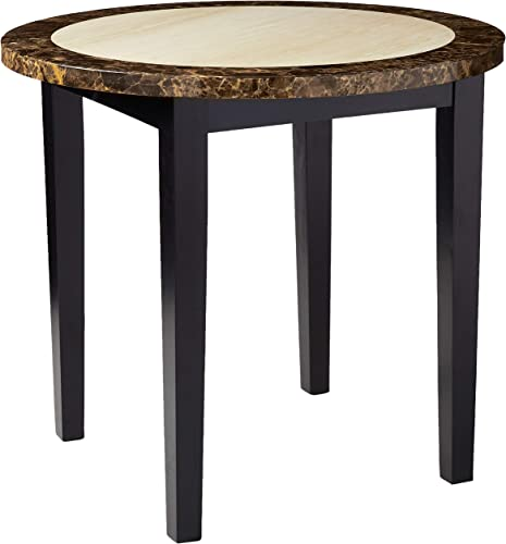 Furniture of America CM3188PT-40 Atlas IV 40 Round Counter Height Dining Tables