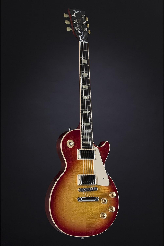 Gibson USA LPTD+HSCH1 Les Paul Traditional Premium Finish Heritage Cherry Sunburst Chitarra Elettrica