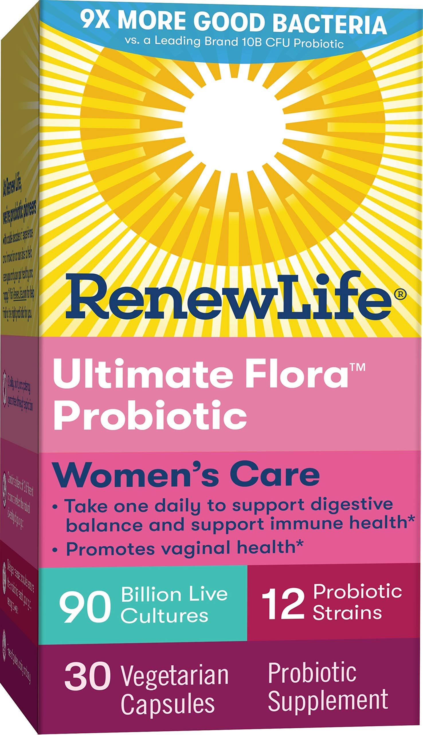 Renew Life Womens Probiotic Ultimate Flora Women S Care