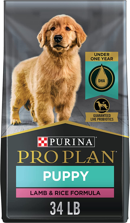 Purina Pro Plan Puppy Lamb & Rice Dry Dog Food (Packaging May Vary)
