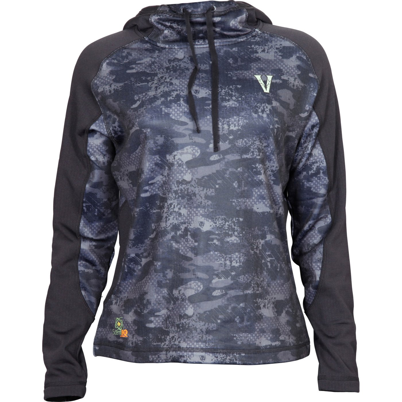 Rocky Women's Stratum Hoodie, Venator Black Camouflage, Medium by Rocky