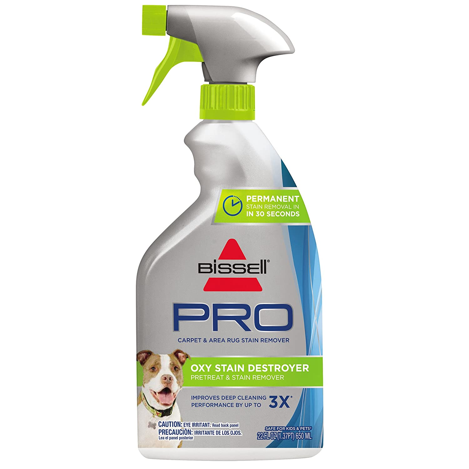 Bissell Destroyer Pet Plus, 1773, 22 oz Oxy Stain Pretreat 22 Fl Oz
