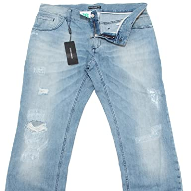 new concept 4df9b 9e375 80583 jeans DOLCE&GABBANA D&G 16 GREEN pantaloni lunghi uomo ...