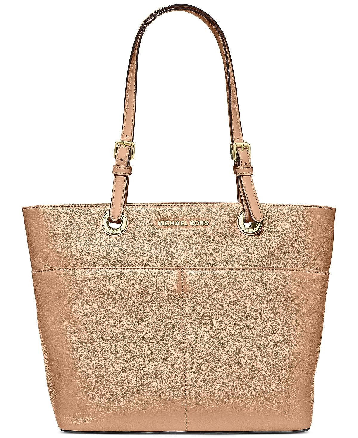 Amazon.com  Michael Kors Women s Bedford Leather Top-Handle Bag Tote -  Acorn  Michael Kors  Shoes ad4a76f08