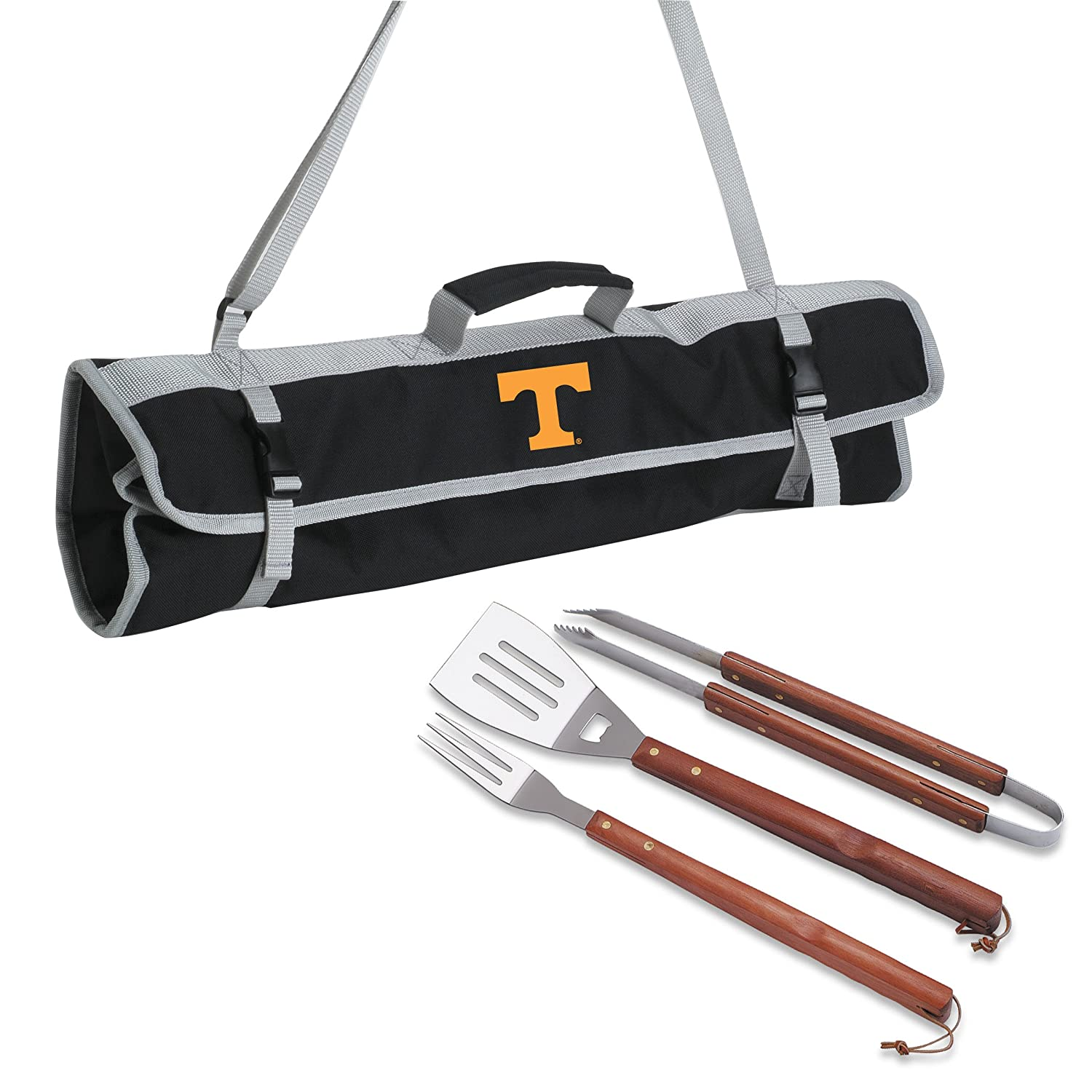 (tennessee) - Picnic Time 3-Piece BBQ Tote With Printed Collegiate Football Team Logo B0018JLGIW