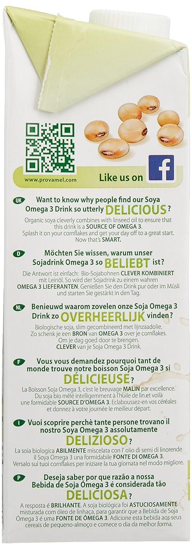 provamel bio soja Drink Omega 3 (1 x 1000 ml): Amazon.es: Alimentación y bebidas