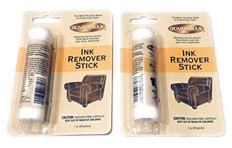 How To Remove Ink From Leather >> Amazon Com Guardsman Finished Leather Vinyl Cleaner Ink Remover