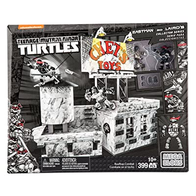 Mega Bloks Teenage Mutant Ninja Turtles Rooftop Combat: Toys & Games
