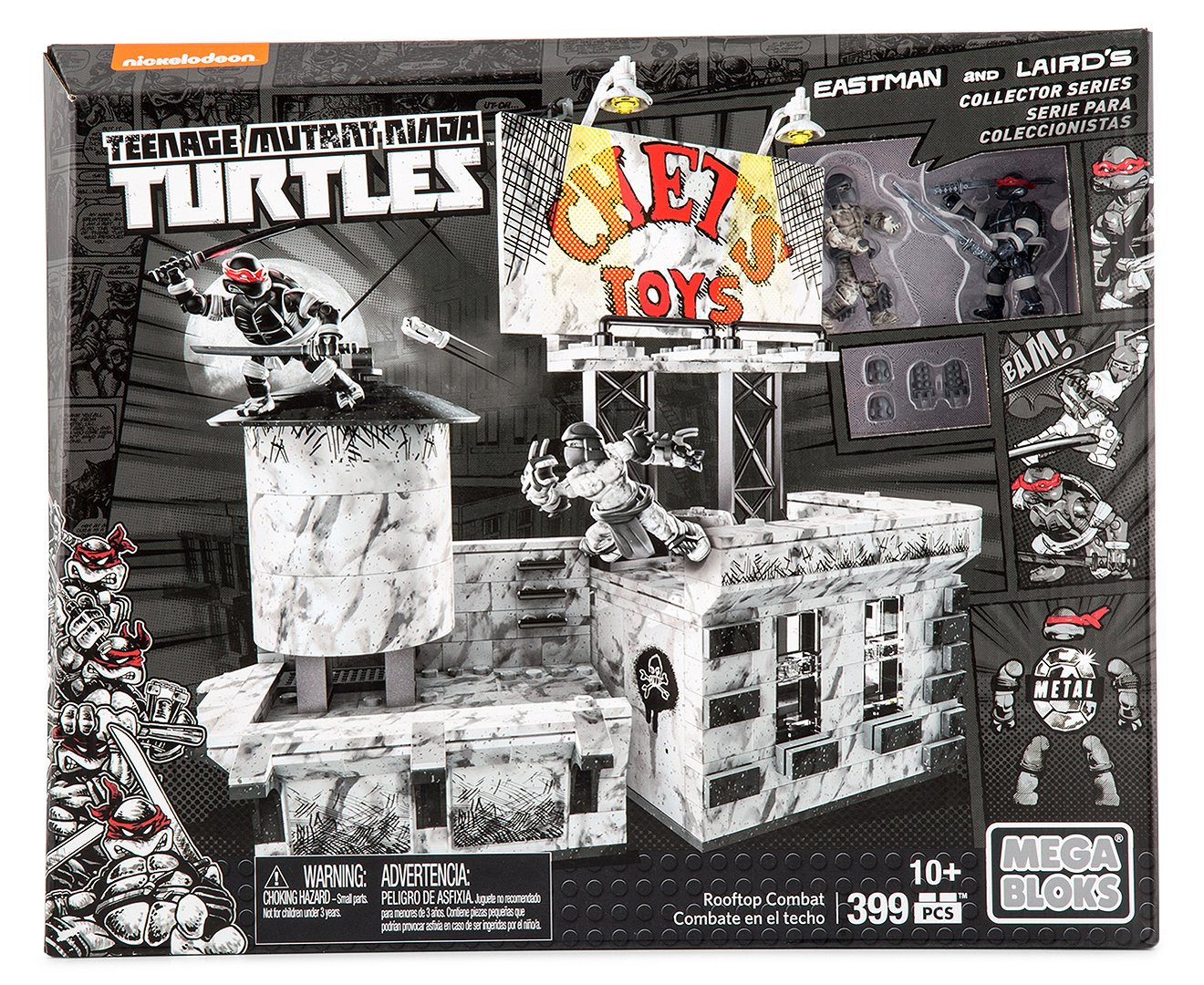 Teenage Mutant Ninja Turtles Roof Top Combat (10+ Age ...