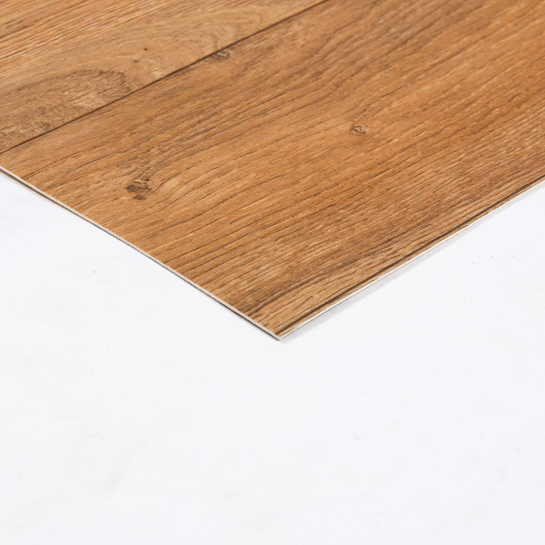 Weitere Farben und Gr/ö/ßen verf/ügbar PVC Bodenbelag Holzoptik Auslegware 2,6 mm Dicke Stabparkett Dunkelbraun 350 x 400 cm