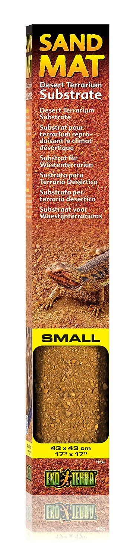 Exoterra Substrat pour Reptiles Tapis Sand Mat M 43 X 58 cm PT2563