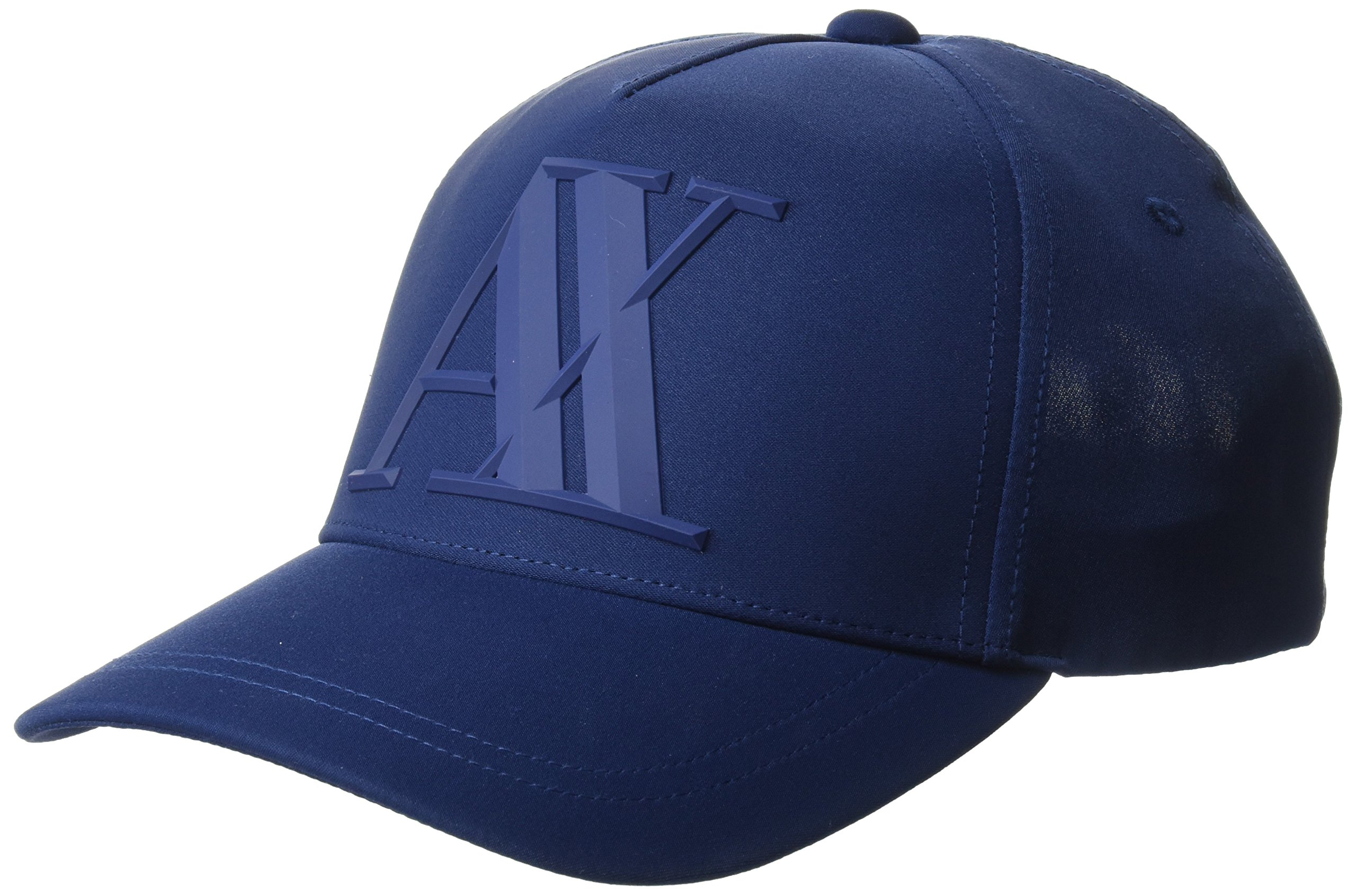 22795b314 A|X Armani Exchange Men's a|X Logo Hat, Navy Peony, TU