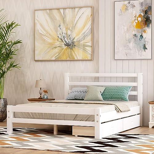 Danxee Wood Bed