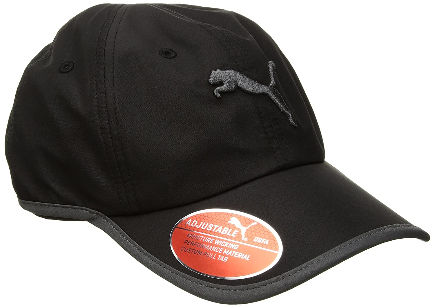 finest selection 1ea26 f0c97 Amazon.com  PUMA Women s Evercat Running Cap, Black Grey, OS  Clothing