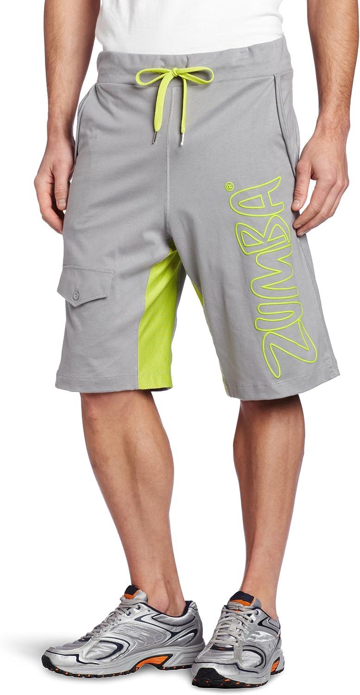 Zumba Fitness Mens Funk Phenom Jersey Jammers Shorts