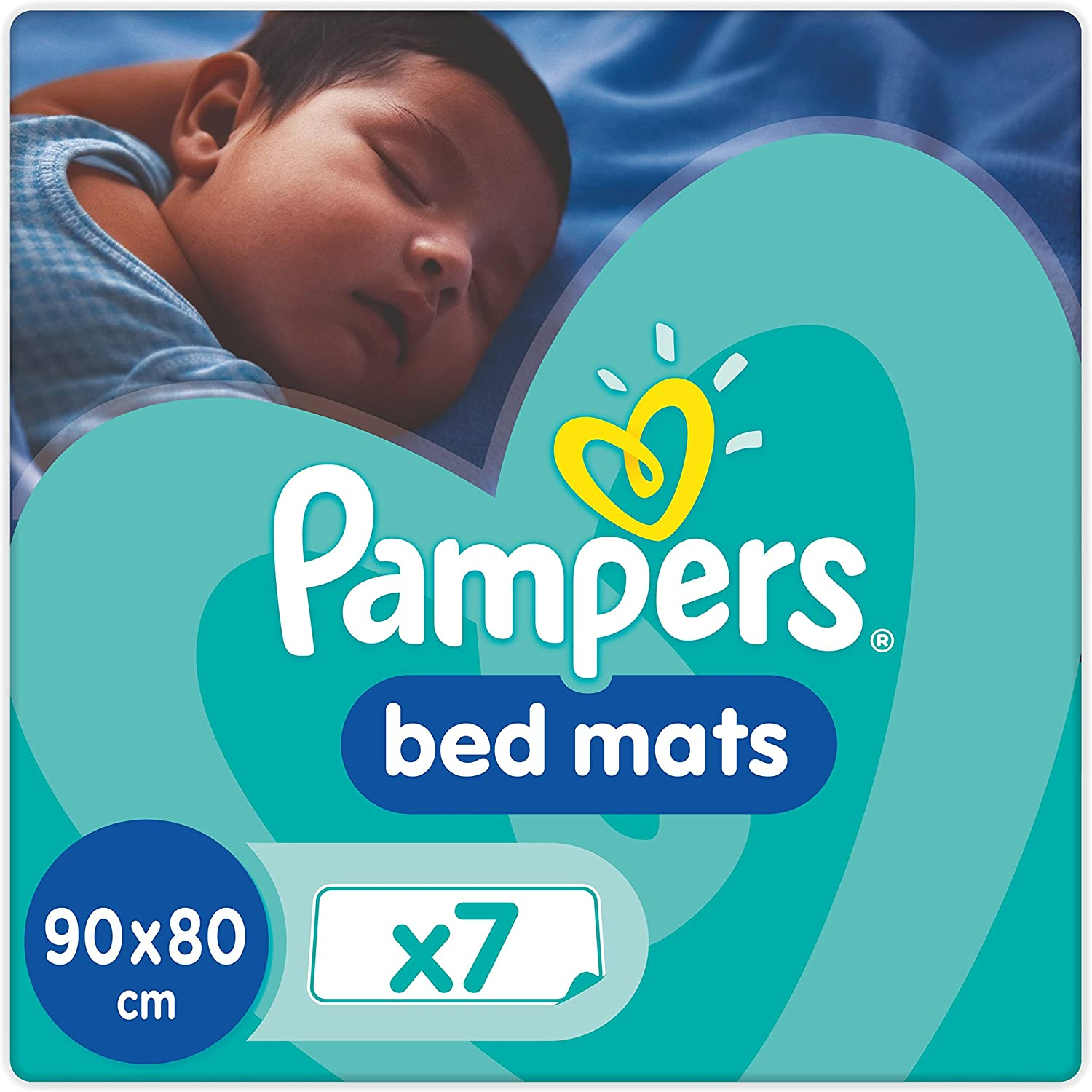 Pampers Super Absorbent Baby Children Disposable Change Changing Mats MultiPack