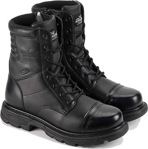 2. Thorogood Men's 8-Inch Tactical Side Zip Jump Boot