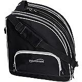 TOPOWN Ice Skate Bag Roller Skates Bag for Men Inline Skate Bag for Women Roller Skate Bag Premium Black Ice Skate Bag Rose R