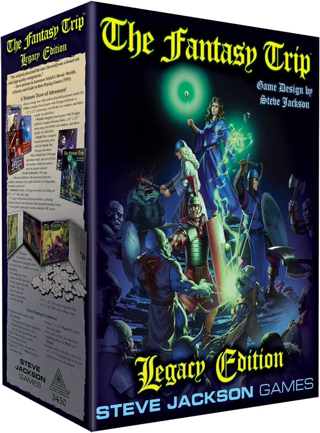 Amazon Com Fantasy Trip Legacy Edition Toys Games