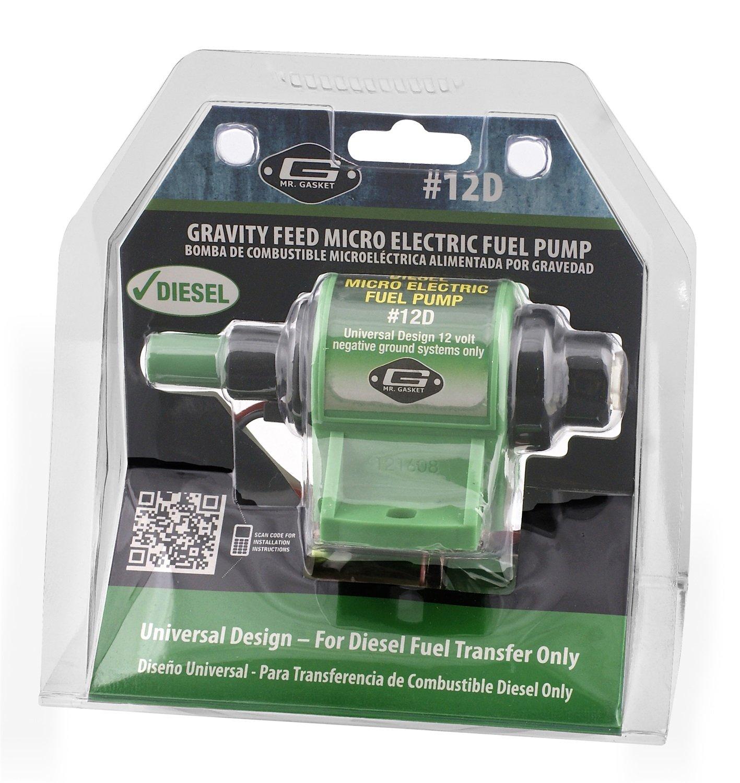 Mr Gasket 12d Micro Electric Diesel Fuel Pump Automotive Edelbrock