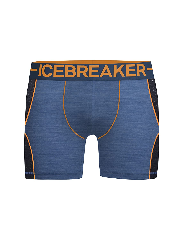 Icebreaker Men's Anatomica Boxer Sports Zone Man, Mens, Mens Anatomica Zone Boxers ICEA3|#Icebreaker 104113