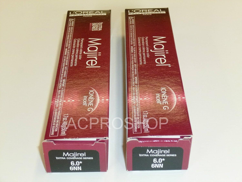 Amazon 2 X Loreal Professional Majirel Hair Color Level 60