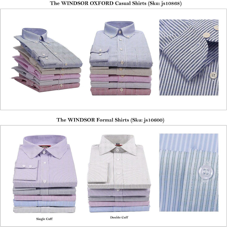 Camisa Casual New Windsor Oxford Manga Larga con Botonadura ...