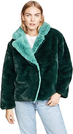 Apparis Womens Kendall Faux Fur Jacket