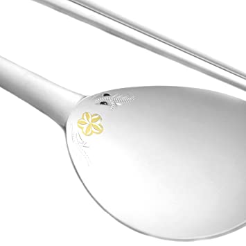 Spoon And Chopsticks Set Korean Style 99 Pure Silver Gold