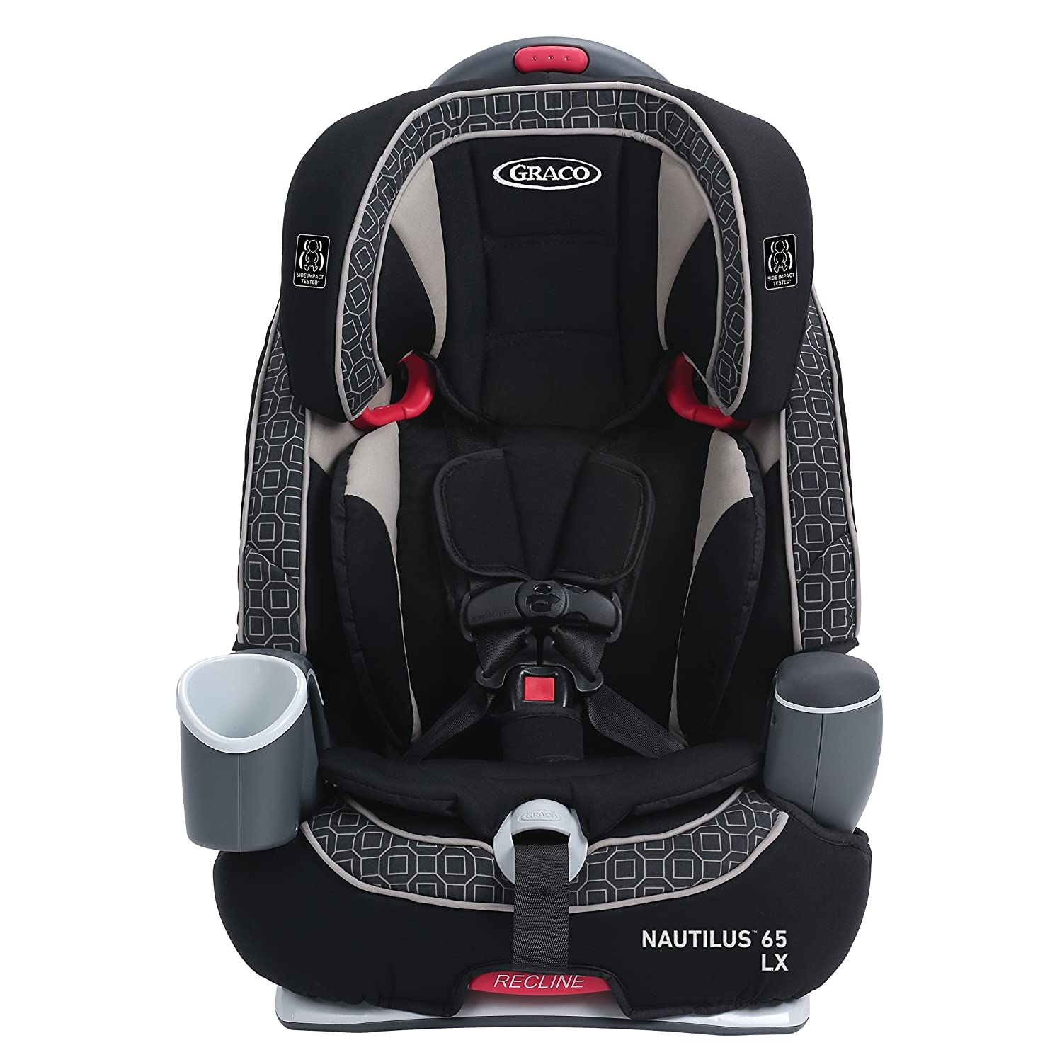 amazon com graco nautilus 65 lx 3 in 1 harness booster car seat rh amazon com Graco 3 in 1 Car Seat Stroller Britax Car Seats