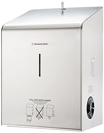 KIMBERLY-CLARK PROFESSIONAL* Dispensador de Toallas Secamanos en Rollo 8976 - Acero inoxidable