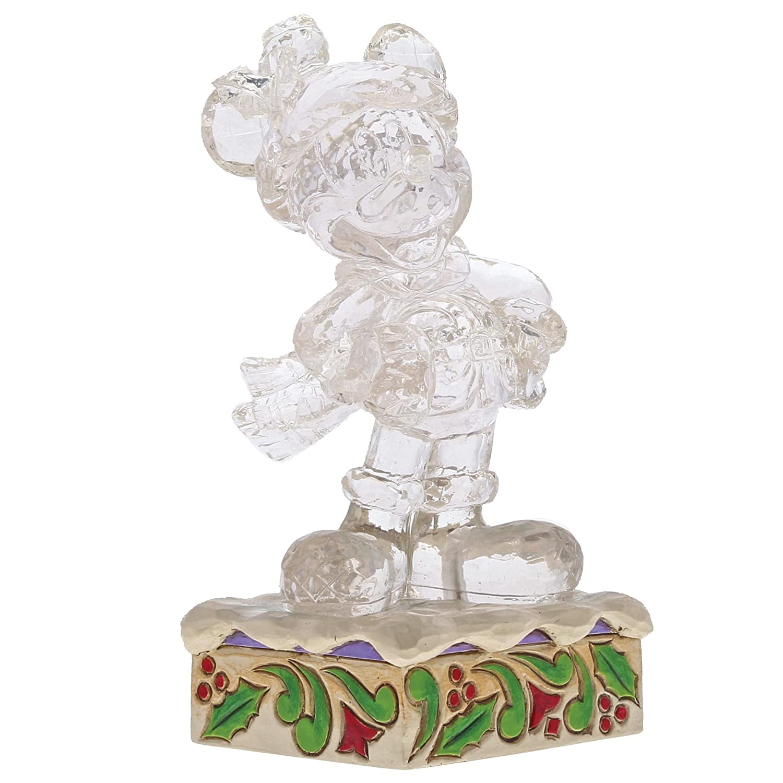 Department56 Enesco Disney Traditions Ice Bright Mickey Mouse, Multicolor (4059924)