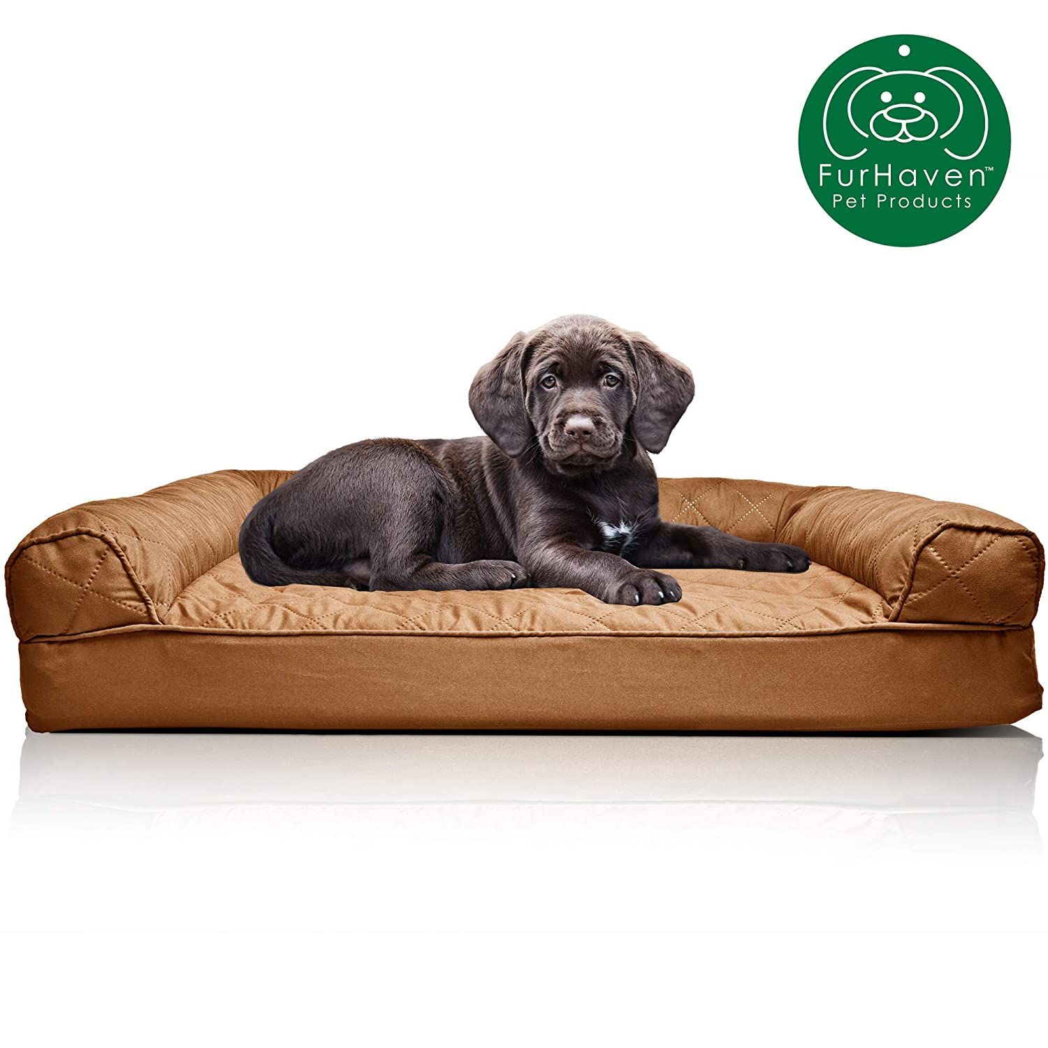 Brilliant Furhaven Pet Dog Bed Orthopedic Sofa Style Traditional Living Room Couch Pet Bed W Removable Cover For Dogs Cats Available In Multiple Colors Gmtry Best Dining Table And Chair Ideas Images Gmtryco