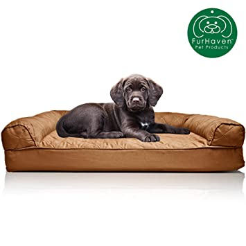 Marvelous Furhaven Pet Dog Bed Orthopedic Sofa Style Traditional Living Room Couch Pet Bed W Removable Cover For Dogs Cats Available In Multiple Colors Gmtry Best Dining Table And Chair Ideas Images Gmtryco