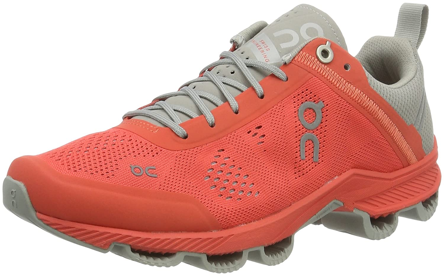ON Women's Cloudsurfer Sneaker B00YYJ34Y2 7 B(M) US|Lava/Glacier