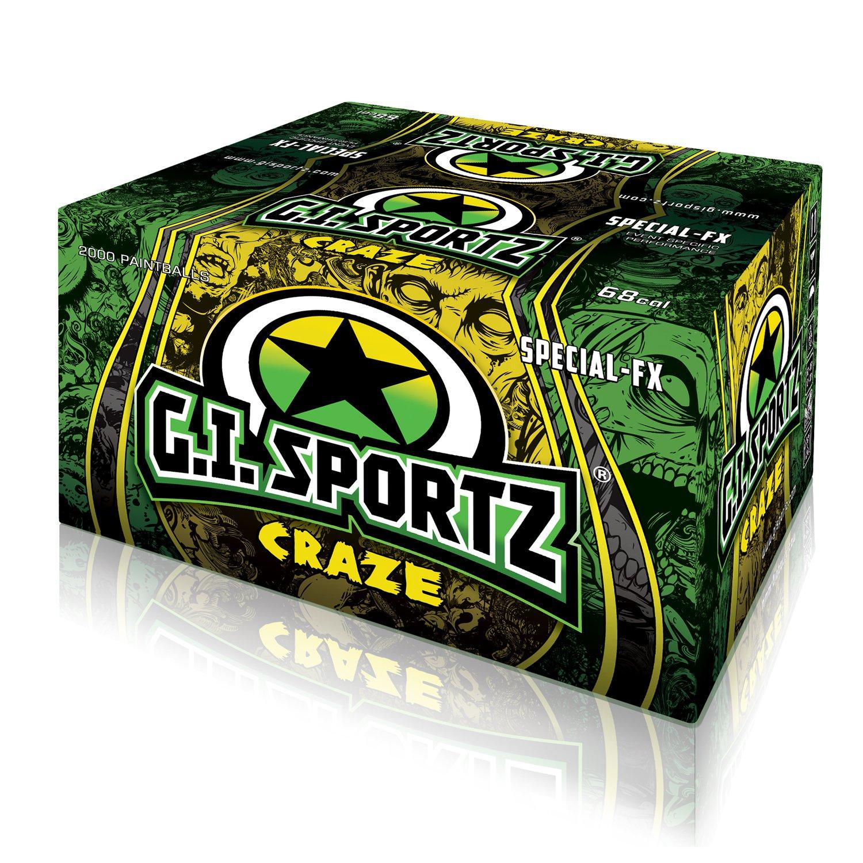 GI Sportz Craze Fluorescentes - 2000 Billes