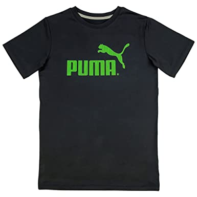 3ba9247bbc47 Puma Big Boys Exercise Work-Out Weight Lifting Shirt Logo X-Large T ...