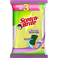 Scotch-Brite Scrub Sponge (Large)- Pack of 3