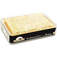 Miel de panal ImkerPur® en miel de acacia altamente aromática (2018 añada), juego de 2, cada uno 400 g (total 800 g), en caja fresca de alta calidad y apta para alimentos.