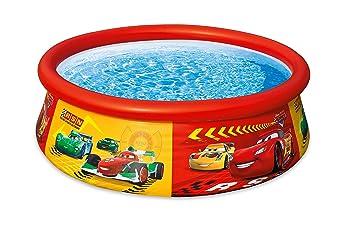Intex 28103NP - Piscina hinchable Cars 183 x 51 cm, 886 litros