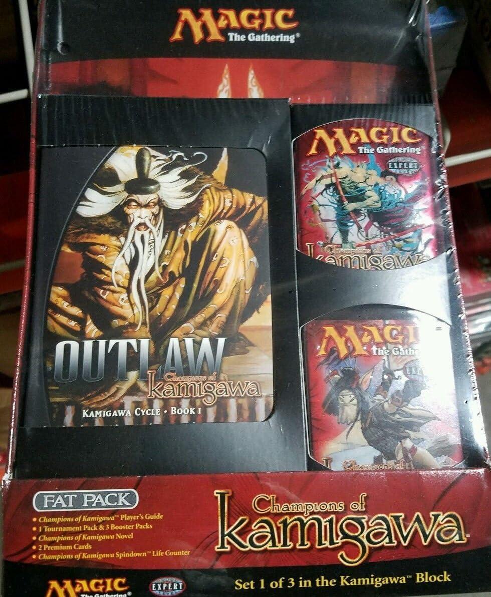 MTG campeón de Kamigawa Magic The Gathering grasa sellado Booster Packs + ^ g # fbhre-h4 8rdsf-tg1377345: Amazon.es: Juguetes y juegos