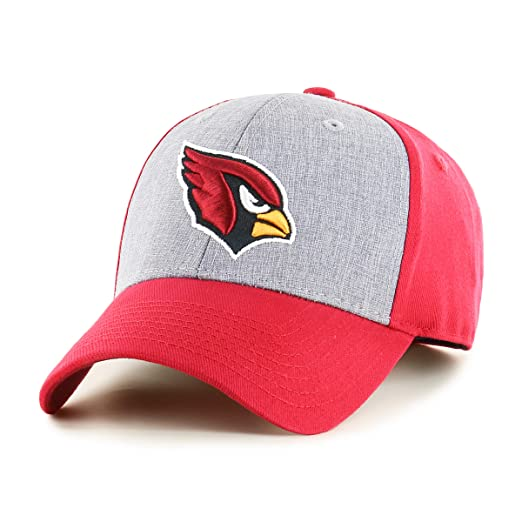 new concept 26148 2fe3e Amazon.com   OTS NFL Arizona Cardinals Male Essential All-Star Adjustable  Hat, Dark Red, One Size   Clothing