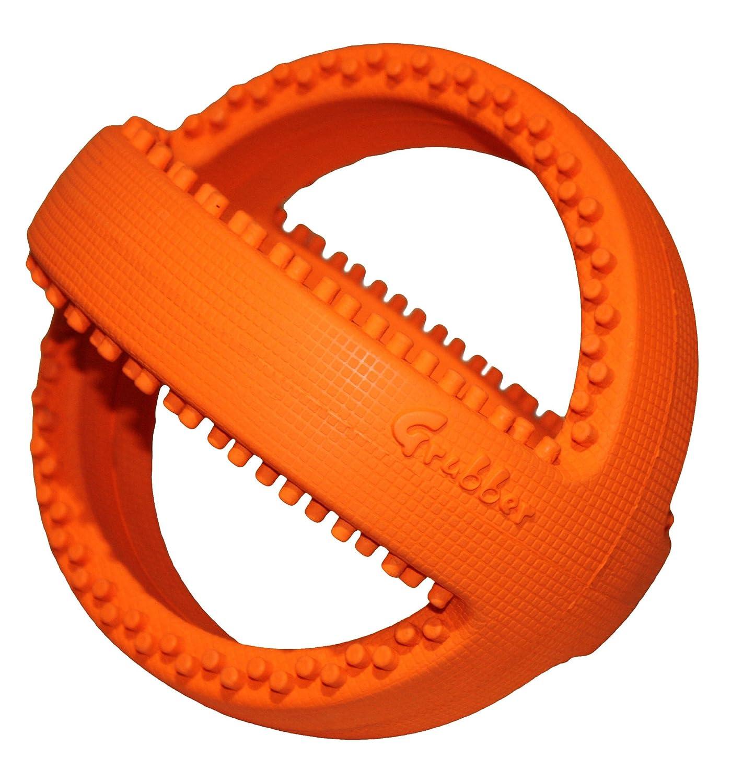 Grubber 犬のおもちゃ 投げる玩具 噛む玩具 ラグビーボール B00AQUNAQ0   フットボール