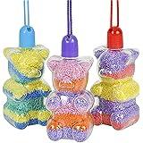 Gummy Bear Sand Art Necklace - 12 Sand Art Necklaces Per Pack