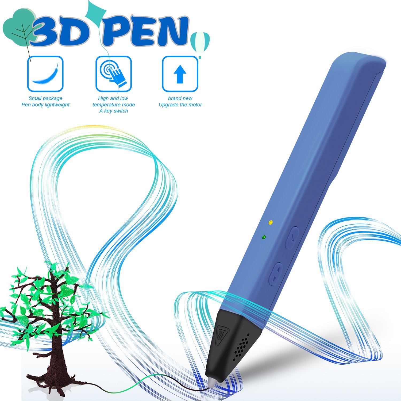 Pluma profesional 3D para niños y adultos, con modo de seguridad ...