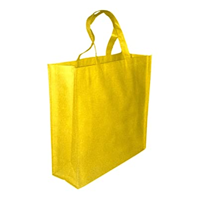 5 Pack Promo Tote Bags Reusable Grocery and Travel Totes - Party Favor Gift Bags
