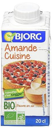 Amande Cuisine | Bjorg Amande Cuisine 20 Cl Lot De 8 Amazon Fr Epicerie